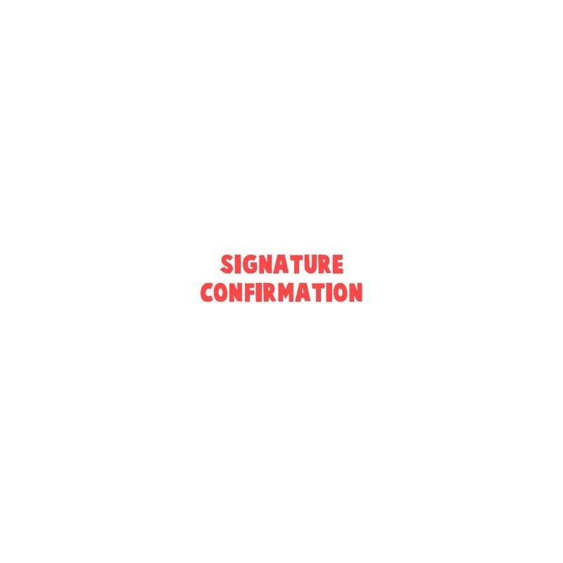 SIGNATURE CONFIRMATION
