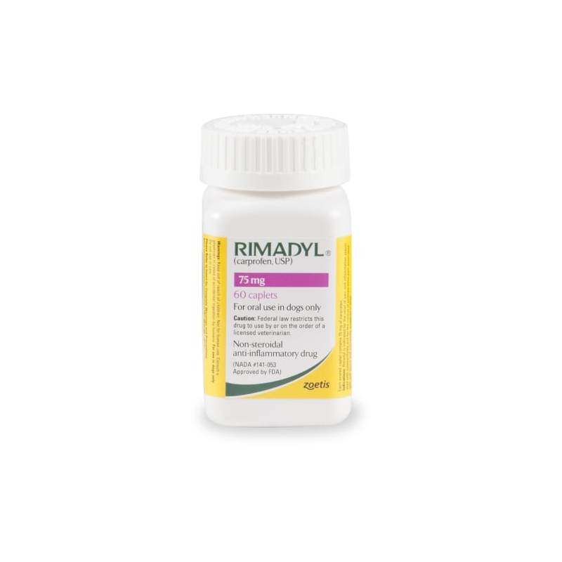 Rimadyl 75 mg Caplets, 60 Count