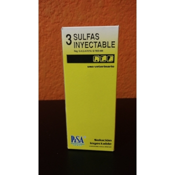 3 Sulfas - 500ML  PRICE FOR 2 BOTTLES