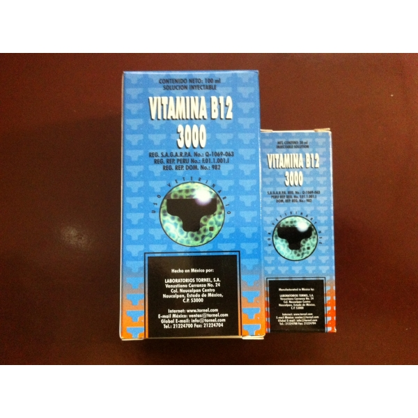 Super Vitamina B12 3000 100ml