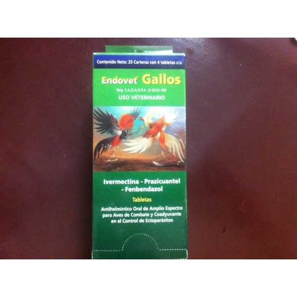 Endovet Gallos 100pills