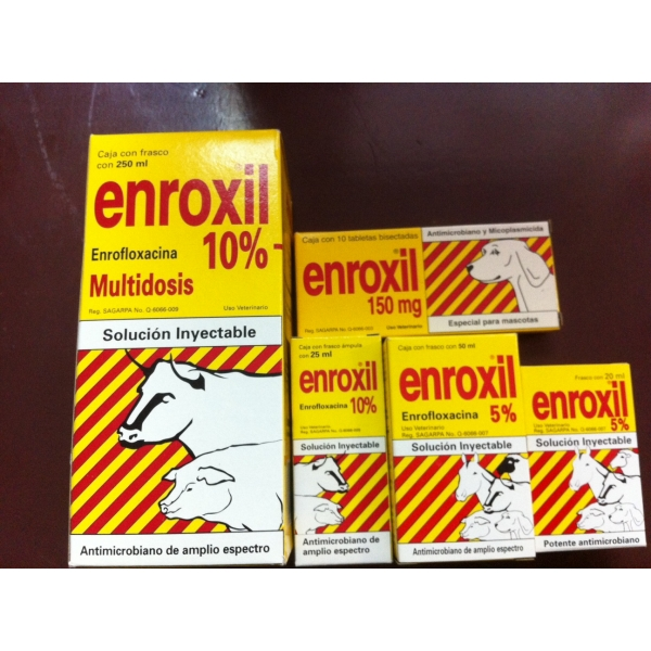 Enroxil 150mg 10 tablets